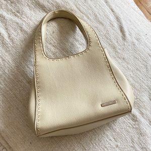 VINTAGE Cream Hand Bag